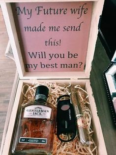 """15 Groomsmen Proposal Ideas """"Will you be my groomsmen?"""" - Groomsmen Proposal Ideas """"Will you be my groomsmen?"""" – … 15 Groomsmen Proposal Ideas """"Will you be my… - Cute Wedding Ideas, Gifts For Wedding Party, Party Gifts, Perfect Wedding, Dream Wedding, Wedding Day, Wedding Favors, Wedding Reception, Bridal Parties"""