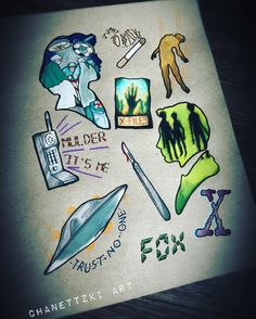 X files flash.... by Chanettzki Art