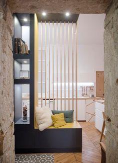 Comment transformer son couloir en entrée ? www.soodeco.fr/