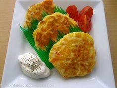 "Bento-Mania.....verrückt nach der japanischen Lunch Box: ""Rezept des Monats"": Vegetarische Käse-Mais-Plätzchen"