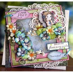 Heartfelt Creations - Fairy In My Garden Project