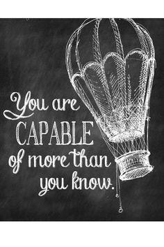 Többre vagy képes, mint gondolnád!