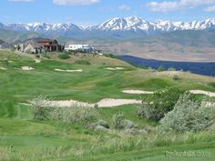 South Mountain Golf in Draper, Utah Draper Utah, Salt Lake City, Golf Courses, Around The Worlds, Mountains, Pictures, Travel, Amazing, Green