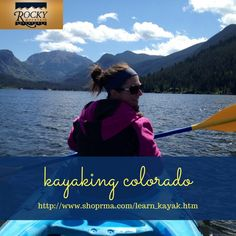 Experience the thrill of kayaking in Colorado  with Rocky Mountain Adventures : Call Now : 800-858-6808  #kayakingcolorado  #kayaklessons #kayakingincolorado #kayakinglessonscolorado