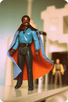 Kenner's 1977 Star Wars Episode V: The Empire Strikes Back Action Figure — Billy Dee Williams as 'Lando Calrissian'