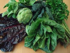 Add leafy greens to meals to minimise inflammation from acidity.