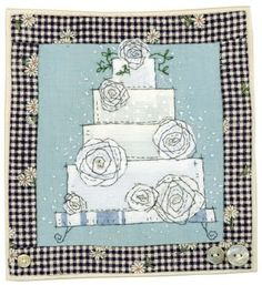 Sharon Blackman: It's been a while. Free Motion Embroidery, Free Machine Embroidery, Free Motion Quilting, Fabric Cards, Fabric Postcards, Hand Applique, Embroidery Applique, Applique Designs, Embroidery Designs