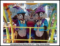 Disneyland Paris Photo Series #11 - Chip, Clarice & Dale