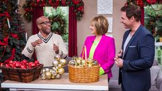 Home & Family: Friday, December 12th, 2014 | Hallmark Channel Mantle dec. with ornaments