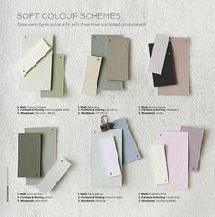 Soft colour schemes (Farrow & Ball)