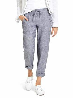 Sport it Now: Linen Chambray
