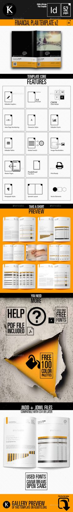 THE Business Plan - Multipurpose Digital Template Business