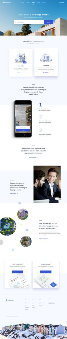 Dribbble - by Filip Justić Ui Web, Responsive Web Design, Best Web Design, App Design, Real Estate Landing Pages, Web Design Gallery, Web Mockup, Web Business, Mobile Web Design