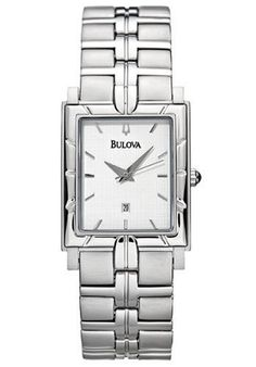 Bulova Men's 96G40 Silver-Tone Watch ** You can get more details by clicking on the image.