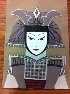 Samurai, Drip, Drip, Splatter Splash, art ed blog