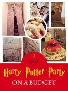 Harry Potter Party on a Budget  #birthdayparty #harrypotter #harrypotterparty #partyonbudget