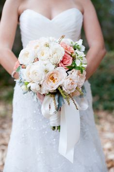 Santa Barbara Ranch Wedding from Delicate Details | Style Me Pretty