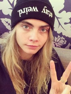 SO many questions about Cara Delevingne's new tattoo