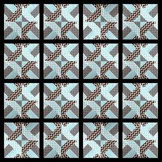 """Quick and easy """"Doubly striped Half Square Triangle block"""" (Hidden wells) – Sewn Up Quilt Square Patterns, Patchwork Quilt Patterns, Quilt Block Patterns, Pattern Blocks, Square Quilt, Jellyroll Quilts, Scrappy Quilts, Easy Quilts, Quilting Tutorials"""