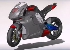 Michael Czysz had a dream - to build the world's fastest electric motorcycle. And he used SolidWorks to make it come true.