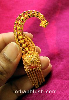 Indian Blush: Traditional Bengali Gold Wedding Jewellery - Part II
