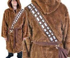 $69.99 USD : Chewbacca Robe – Made from only the finest Wookie fur, this robe is one of the warmest and furriest ever created.
