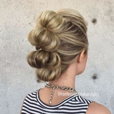 Wedding Hairstyles For Long Hair Curly Faux Hawk 32 Ideas Dance Hairstyles, Trendy Hairstyles, Braided Hairstyles, Wedding Hairstyles, Faux Hawk Hairstyles, Ladies Hairstyles, Long Haircuts, Medium Hairstyles, Mohawk Updo