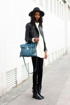 Ankle boot outfit ideas we're loving for fall and winter - click for style inspiration!