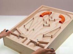 Como hacer un Pinball o Flipper casero - Taringa!