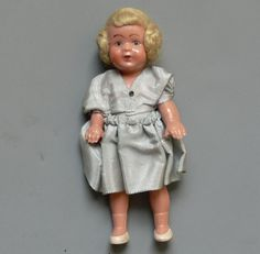 Vintage Celluloid Doll Germany Dollhouse by jujubeezcloset on Etsy, $5.00