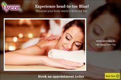 Give your body a blissful weekend!   Visit http://alcorspa.in/book-appointment/ to book an appointment and connect with a rejuvenating mind, body and soul!!  #AlcorSpa #RelaxingWeekends #GiveYourSelfRelaxation #PamperYourself #SoothYourself