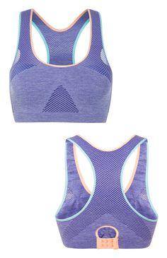 Brassière de sport violette
