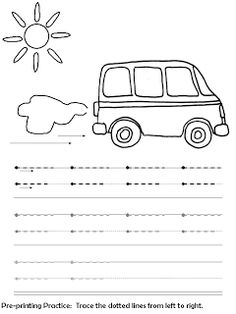 Pre-printing practice for toddlers and early preschool-Found my fave website again! Preschool Writing, Free Preschool, Preschool Printables, Preschool Worksheets, Preschool Learning, Early Learning, Preschool Activities, Preschool Age, Free Printables