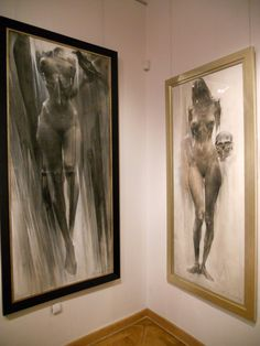 Bogusz Salwinski, Sacra humanum - desen, sculptura @ Galeria Autorska Jana Siuty (12)