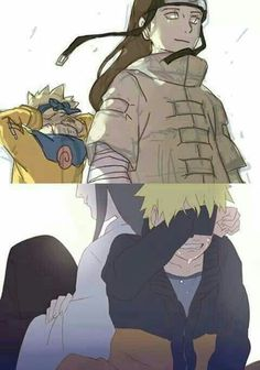 Naruto, Neji, time lapse, different ages, young, childhood, sad, crying, ghost, spirit; Naruto