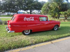 1955 Chevy Sedan Delivery FOLLOW THIS BOARD FOR GREAT COKE OR ANY OF OUR OTHER COCA COLA BOARDS. WE HAVE A FEW SEPERATED BY THINGS LIKE CANS, BOTTLES, ADS. AND MORE...CHECK 'EM OUT!! Anthony Contorno Sr