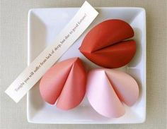 paper fortune cookies - etsy.com