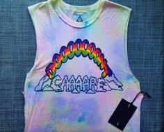 UNIF Don't Care Sleeveless Tee at shopblacksalt.com