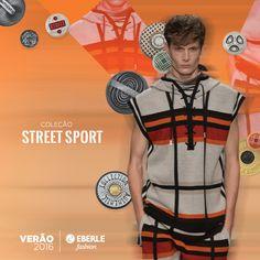 #eberlefashion #tendência2016 #StreetSport #Verão saiba mais em http://www.eberlefashion.com.br/#/colecoes/verao-2016/release/street-sport