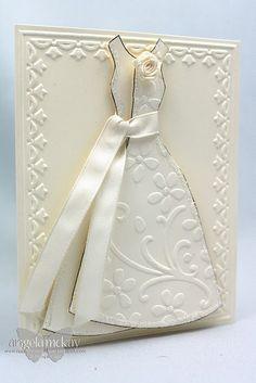 Beautiful bridal card!