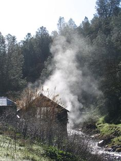 Wilbur Hot Springs in Northern California. In all the world... no waters like these.    http://www.wilburhotsprings.com