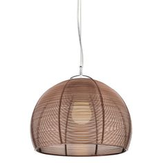 Cougar Lighting Arden Pendant in Coffee