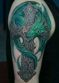 Image result for celtic cross  tattoo for men
