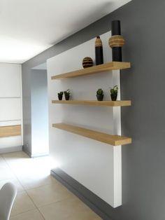 bois granit et tle rouille pour une cuisine moderne plus - Etagere Cuisine Moderne