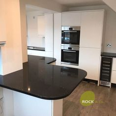 Nero Stella - Cheshunt, Herts - Rock and Co Granite Ltd Kitchen Worktop, Kitchen Cabinets, Kitchen Appliances, Granite, The Originals, Home Decor, Diy Kitchen Appliances, Home Appliances, Decoration Home
