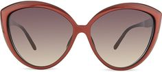 LINDA FARROW LFL241 red velvet acetate sunglasses