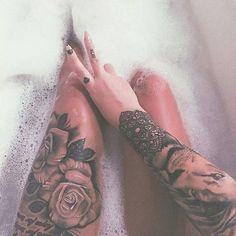12 ideas de tatuajes en las piernas increíbles
