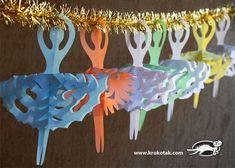 SNOWFLAKE BALLERINAS for Little Hands   krokotak