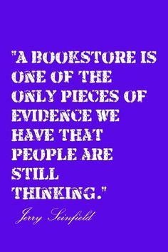 bookstores...