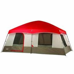 Wenzel Timber Ridge 10 Person Cabin Tent 36500 for sale online Camping Pillows, Tent Camping, Camping Storage, Campsite, 12 Person Tent, Portable Toilet Seat, Mummy Sleeping Bag, Tent Reviews, Tent Pegs